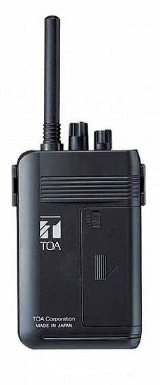 WM-1100 TOA ワイヤレスガイド携帯型送信機