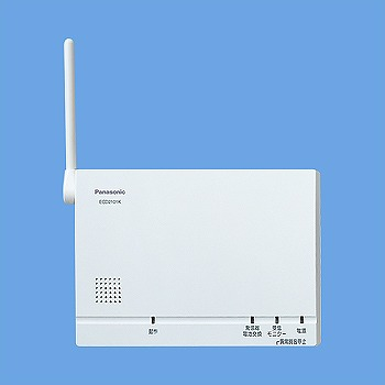 ECD2101K パナソニック電工 ワイヤレスセキュリティシステム 小電力型ワイヤレス接点出力受信器(自動通報システム用)(1出力用)