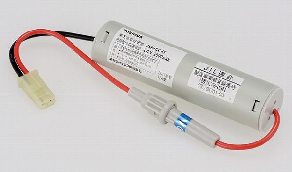 2NR-CX-LEB 東芝 非常灯 交換用電池(バッテリー)