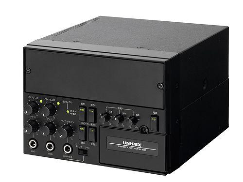 NX-9500 ユニペックス 車載用ミキサーアンプ