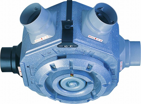 TSK-5R 高須産業 24時間換気システム 5方向中間型ダクトファン エアロード 強・中・弱