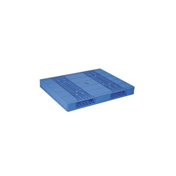【メーカー直送】 法人様限定 LX-1114R2-2 サンコー プラスチックパレット 三甲 ブルー (プラパレ)