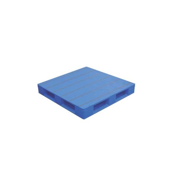 【メーカー直送】 法人様限定 LX-1111D4-4 サンコー プラスチックパレット 三甲 ブルー (プラパレ)