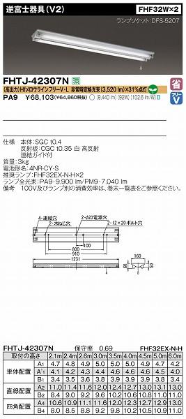 FHTJ-42307N-PA9 東芝 非常用照明器具