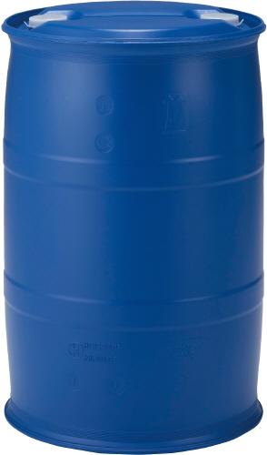 【メーカー直送】 法人様限定 PDC200L-7 サンコー プラスチックドラム 三甲 ブルー (852017)