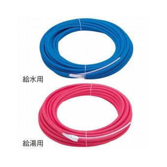 T100N-3-16A-28-R 三栄水栓 トリプル管 給湯用 レッド SANEI