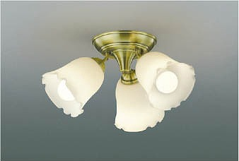 AH39966L コイズミ 小型シャンデリア LED(電球色)