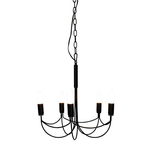 DICLASSE(ディクラッセ) LP2002BK シャンデリア ブラック おしゃれな照明 白熱灯
