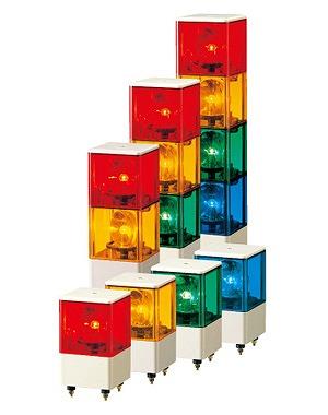 KJB-302-RYG PATLITE パトライト 積層回転灯 赤・黄・緑色