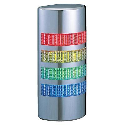 【受注品 納期1-1.5ヶ月】 PATLITE パトライト 壁面型積層信号灯 赤・黄・緑・白色 WE-402FB-RYGC