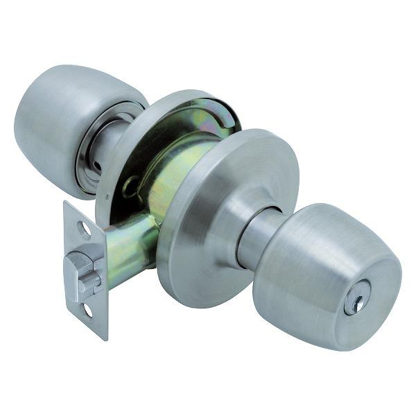 【5個セット】 FUKI フキ ドアノブ (交換用) TLH-58 円筒錠 ディンプルキー3本付 B/S60 (32012580)