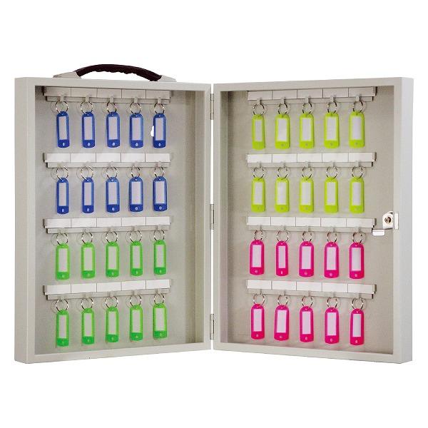【5個セット】 FUKI フキ キーボックス 40本掛け iNAHO