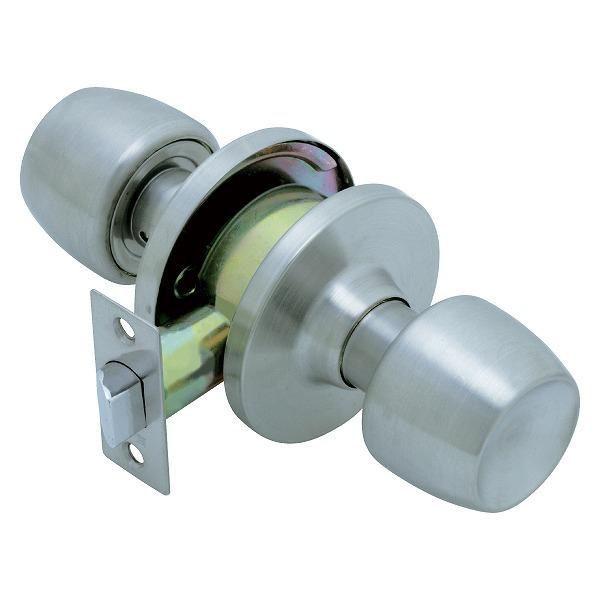 【10個セット】 FUKI フキ ドアノブ (交換用) TLH-59 BS60P 円筒錠 間仕切り錠 (空錠) バックセット60ミリ パック入り