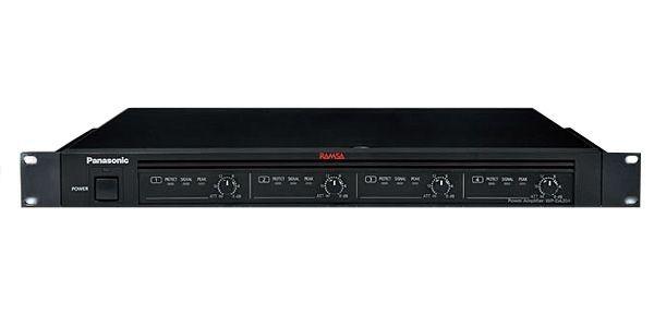 WP-DA204 パナソニック デジタルパワーアンプ 200W×4ch