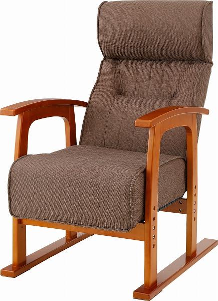 【メーカー直送】 THC-106BR 東谷 クレムリン キング高座椅子 チェア 1人掛けソファ ソファー sofa ダイニングチェア イス 椅子 AZUMAYA