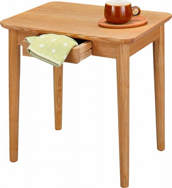 【メーカー直送】 HOT-334NA 東谷 モタ サイドテーブル 木製 AZUMAYA