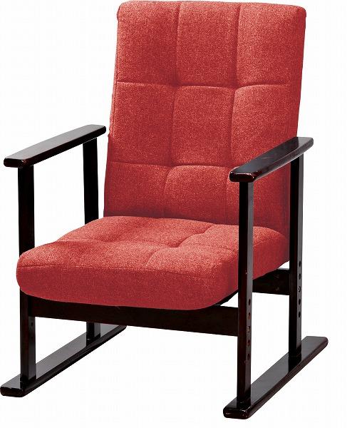 【メーカー直送】 LSS-25RD 東谷 夫婦イス M イス 椅子 リクライニングチェア 木製 AZUMAYA