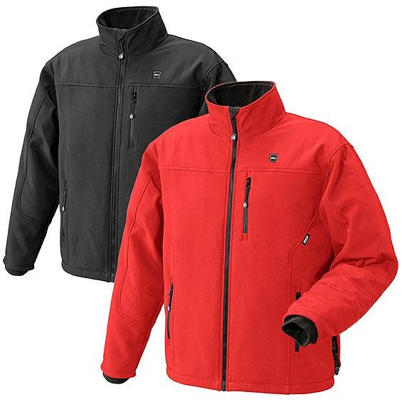 BHJ リョービ 充電式ヒートジャケット 赤色 Lサイズ (684504A)