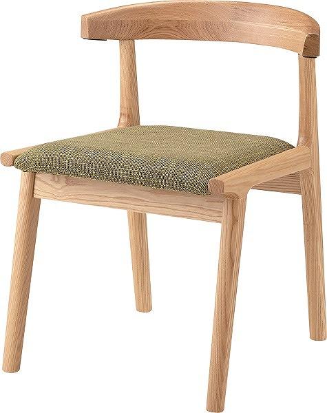【メーカー直送】 HOC-541GR 東谷 ヘンリー ダイニングチェア チェアー 椅子 イス グリーン AZUMAYA