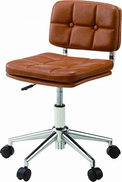 【メーカー直送】 RKC-301BR 東谷 デスクチェア チェアー 椅子 イス ブラウン AZUMAYA
