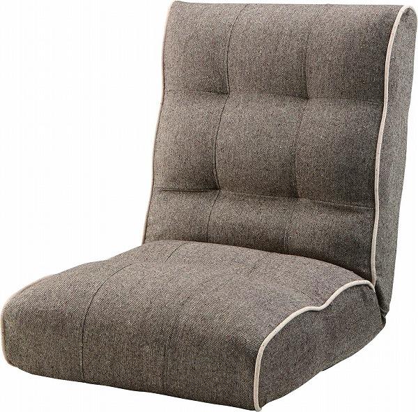【メーカー直送】 RKC-932BR 東谷 シュシュ ボリューム リクライナー 座椅子 ブラウン AZUMAYA