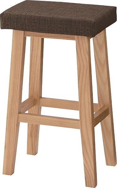 【メーカー直送】 CL-789CBR 東谷 バンビ ハイスツール 椅子 イス ブラウン AZUMAYA