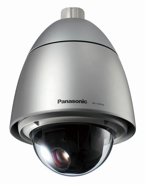 WV-CW590A パナソニック 屋外ハウジング一体型PTZカメラ 親水コーティング Panasonic