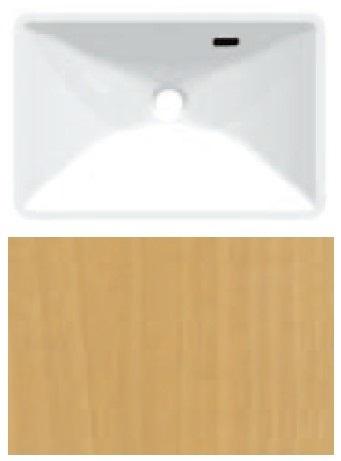 HW21-TLBR 三栄水栓 手洗カウンター HW21 TLBR オーセンウッド SANEI