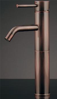 183-151 カクダイ 【JIS規格】 シングルレバー混合栓(トール・ブロンズ) KAKUDAI