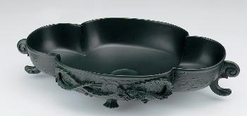 493-035 カクダイ 木瓜型手洗器 KAKUDAI