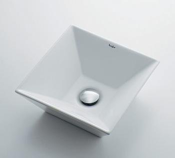 493-082 カクダイ 角型手洗器 KAKUDAI