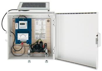 504-026 カクダイ 3チャンネルソーラー発電ユニット(壁付仕様) KAKUDAI