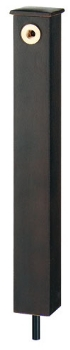 624-196 カクダイ 【JWWA認証品】 庭園水栓柱 砂鉄 KAKUDAI