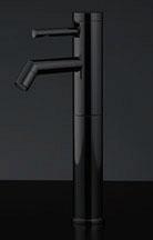 716-207-13 カクダイ 【JIS規格】 シングルレバー立水栓(トール・ブラック) 13 KAKUDAI