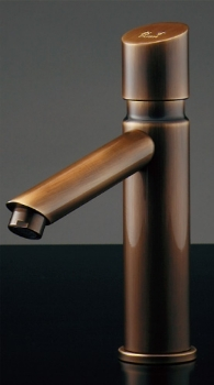 716-318-13 カクダイ 【JIS規格】 自閉立水栓(オールドブラス) 13 KAKUDAI