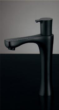 716-872-13 カクダイ 【JIS規格】 立水栓(トール・マットブラック) 13 KAKUDAI