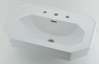 #DU-0438700030 カクダイ 壁掛洗面器 3ホール KAKUDAI