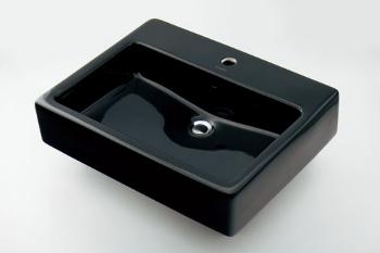 #DU-0452600800 カクダイ 角型洗面器 1ホール KAKUDAI