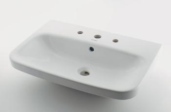 #DU-2319650030 カクダイ 壁掛洗面器 3ホール KAKUDAI