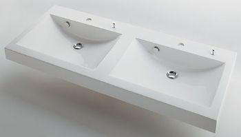 #MR-493223H カクダイ 角型洗面器 ポップアップ独立つまみタイプ KAKUDAI