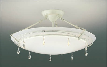 AH42651L コイズミ シーリングライト LED(電球色+昼光色) ~12畳