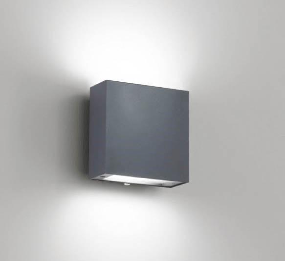 ERB6043HA 遠藤照明 屋外用ブラケット グレー 両側配光 LED(電球色)