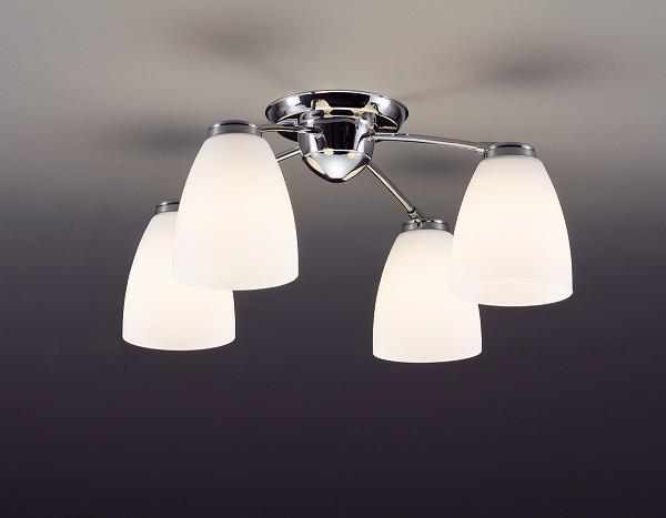 CD-4280-L 山田照明 シャンデリア クロームメッキ LED ~6畳