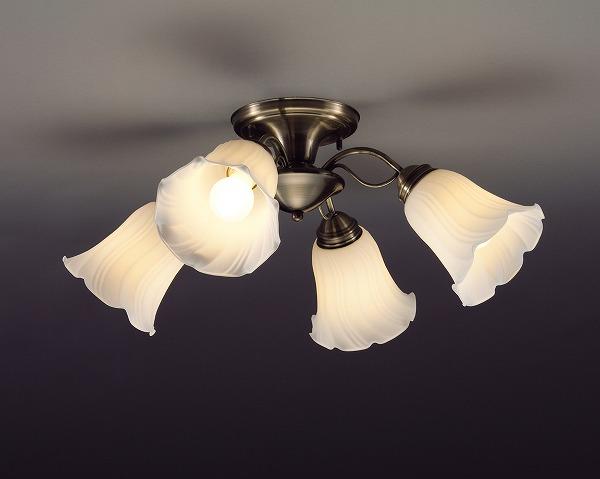 CD-4292-L 山田照明 シャンデリア 真鍮色 LED ~4.5畳