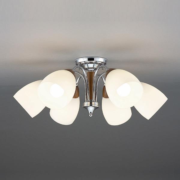 CD-4325-L 山田照明 シャンデリア ウォールナット色 LED ~10畳