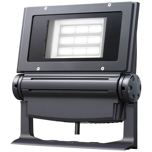 ECF1383N/SA9/DG 岩崎電気 LED投光器 レディオック フラッド ネオ 130W 広角タイプ 昼白色タイプ ダークグレイ LED