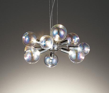ライト・照明器具 天井照明 シャンデリア +DESIGN BUBBLE 照明器具 4.5畳 シャンデリア OC257118LD オーデリック シャンデリア LED(電球色) ~4.5畳