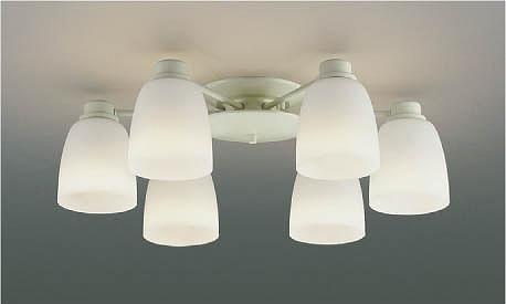 AA47838L コイズミ シャンデリア LED(電球色) ~12畳 (AA37737L 代替品)