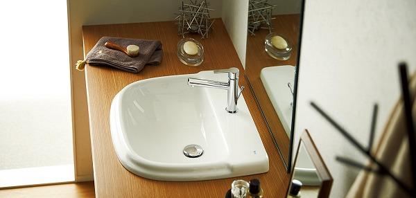 SR325324-W 三栄水栓 洗面器