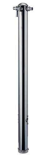 624-212 カクダイ 共用ステンレス混合栓柱